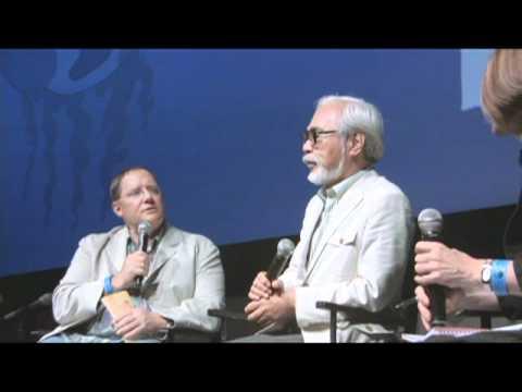 Hayao Miyazaki at SDCC 2009