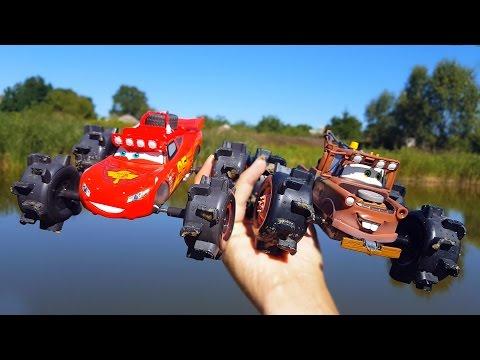 Молния Маквин Тачки Дисней Гонки с Мэтром на больших колёсах - Монстр трак CARS Llightning McQueen