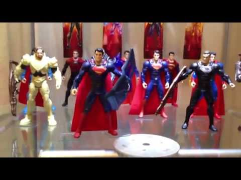 Target Exclusive Man of Steel Kryptonian Invasion 5 pack set!
