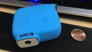 Should you buy a $15 Projector??   Brookstone Keychain Projector Review