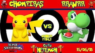 Copa Nepemon  Chompiras Pikachu VS RRAWRR Yoshi Winners Finals