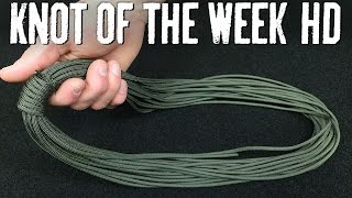 Use an Alpine Coil to Quickly Coil Your Rope for Storage - ITS Knot of the Week HD