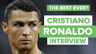 MY LEGACY WILL BE GREAT   Cristiano Ronaldo interview and epic quickfire questions