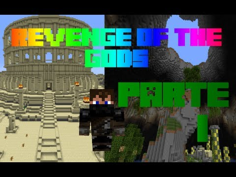 Revenge of the gods - Minecraft - Mapa de Aventura - Parte 1