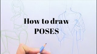 How to draw POSES and use references correctly! (EPISODE 1)