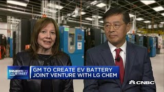 Watch CNBC's full interview with GM CEO Mary Barra and LG Chem's Shin