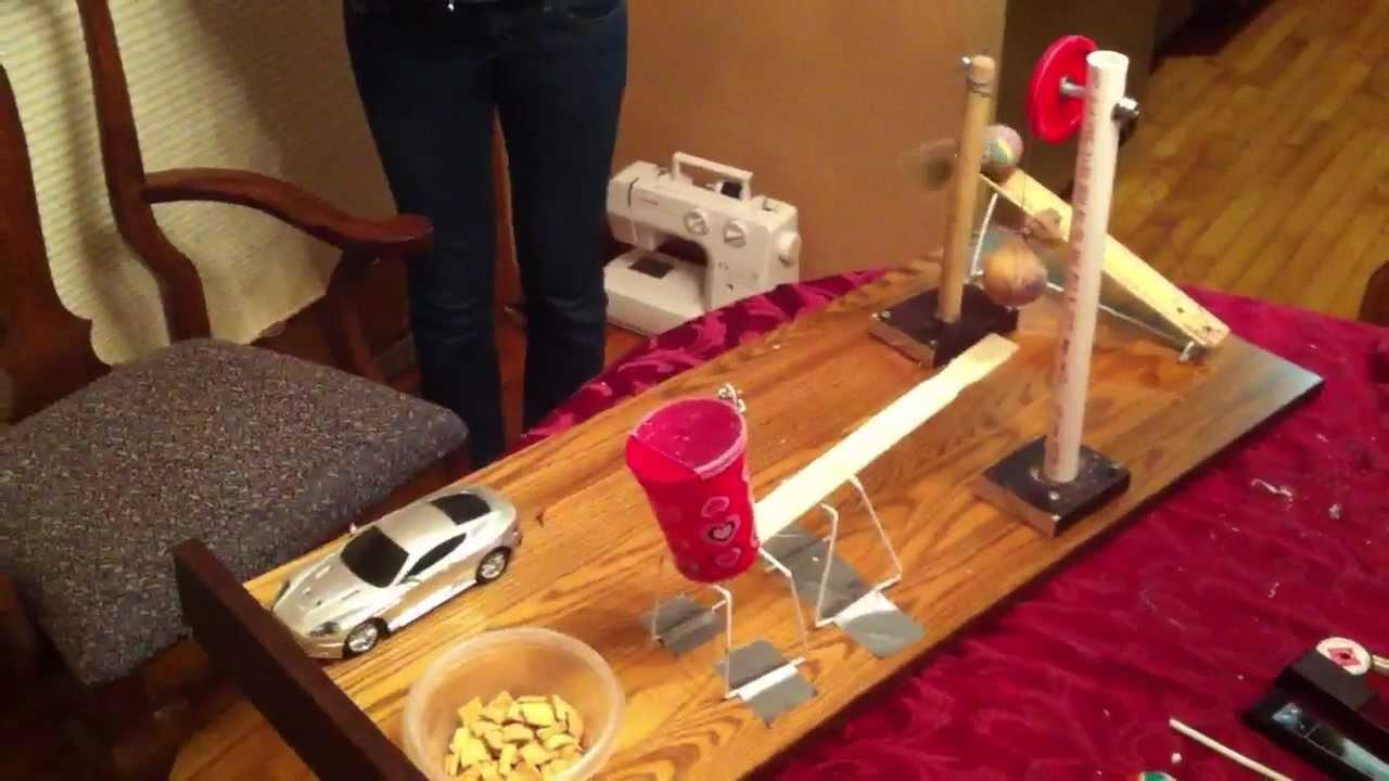 rube goldberg machine project