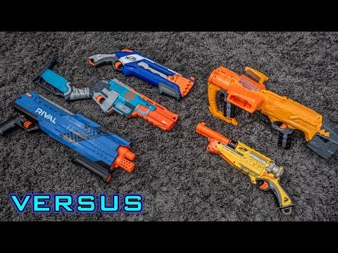 [VS] Shotgun Showdown   What is the BEST Nerf Shotgun!?