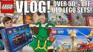 The Most EPIC LEGO Clearance, just2good Visits, & 2019 LEGO Sets! | MandRproductions LEGO Vlog!