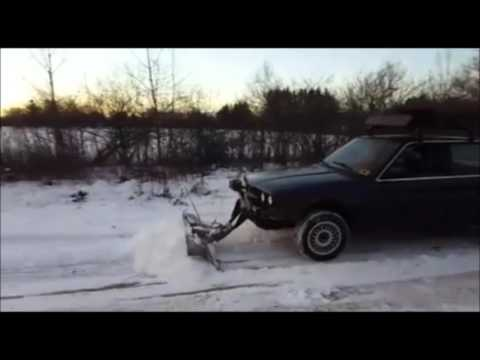 BMW E30 325ix Snow Plow Car