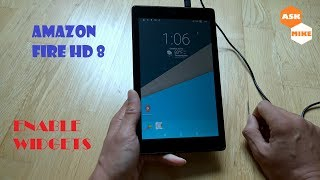 Amazon Fire HD 8 - Enable Widgets - Android Tablet Transformation EP03