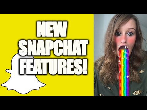 NEW SNAPCHAT SELFIE LENSES!