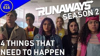 Runaways Season 2: 4 Things That Need to Happen