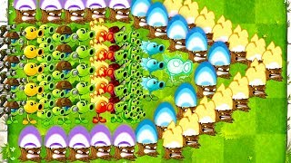 Every Peashooter Challenge in Plants vs Zombies 2 Mod Max levels Torchwood + Peashooters