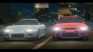 Wangan Midnight | SUPRA | Ep.11-14 Race Highlights
