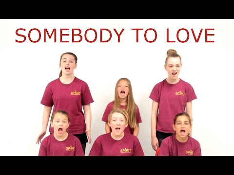 Queen - Somebody to Love (Queen/We Will Rock You Version) COVER by Spirit Young Performers Company
