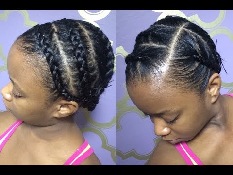 Protective Braids Under Wigs (Tutorial)