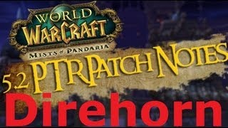 WoW - Patch 5.2 | How to Tame - Direhorn