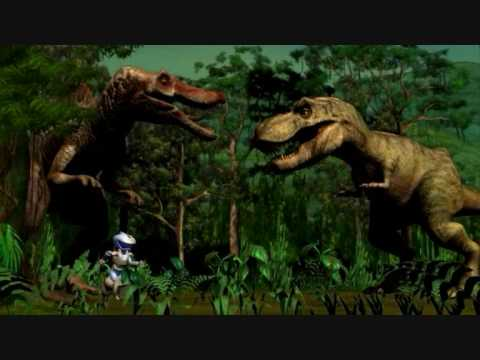 Jurassic Park III: Dino Defender: Go Through The Game Videos ( With Credits )