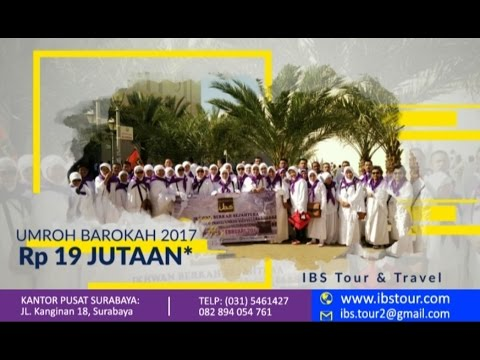 Video travel umroh murah di surabaya