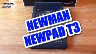 Newman Newsmy Newpad T3 Cheap Android ICS Tablet Review - RK2918 fastcardtech ColonelZap