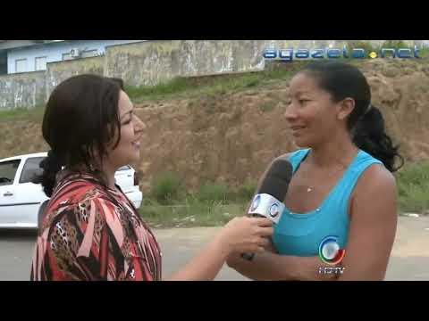 Protesto em Cruzeiro do Sul contra obras não acabadas 17-07-2012