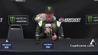 NASCAR at Kentucky Speedway, July 2019: Kurt Busch post race