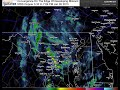 Radar Convergence Snow on edge of forming blizzard