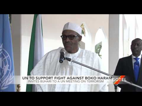 UN Supports Buhari in Fight Against Boko Haram