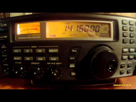 14168khz,Ham Radio,PA30ALEX(Sp. Call Radio Club Haaglanden,Netherlands)
