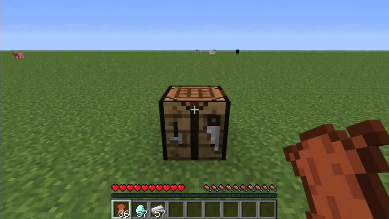 how to make diamond boots in minecraft