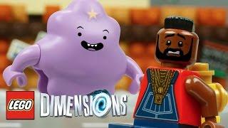 Lumpy Space Princess Meets B.A. Baracus - LEGO Dimensions
