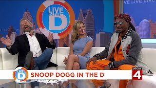 Live in the D: What did Snoop Dogg say to make Jason Carr laugh so hard?