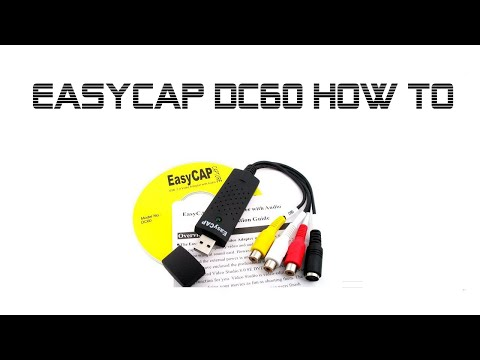 EasyCAP  DC60 sm-usb 007 -  How To - Win7 Win10 64bit Drivers and Heat