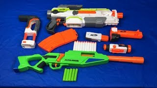 Unbox Toy Guns Box of Toys Nerf Modulus Non Nerf