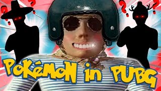 PUBG.EXE Pokemon in PUBG. Funny Moments (ft. PaluluMan & TacticalCorgi)