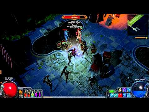 Let's Play Path of Exile (20) tides of the moon