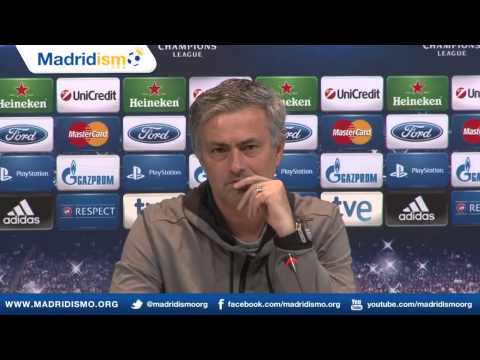 Jose Mourinho Press Conference, Champions League, Real Madrid vs Dortmund, English Dubbed