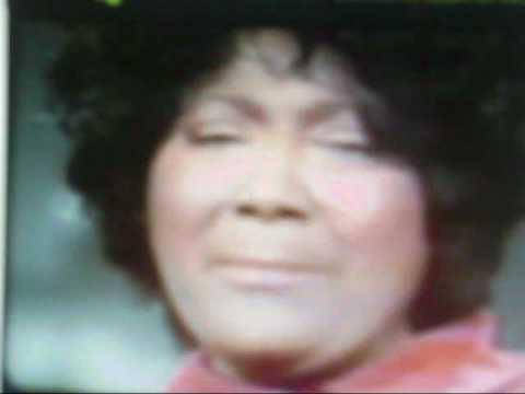 Mahalia Jackson speaks about some blacks being all talk