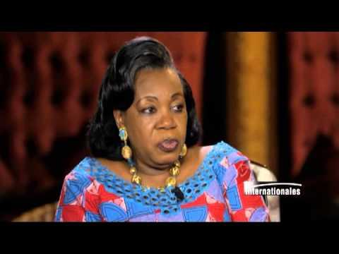 Catherine Samba-Panza sur TV5MONDE : Il faut plus des renforts pour pacifier la RCA