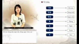 [Sơ Cấp] Tiếng Hàn - Bài 10: Ở văn phòng