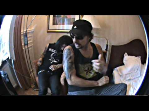 SLAYER ( Dave Lombardo&Gary Holt )Tattoo Video Session by Blackshadows Tattoos