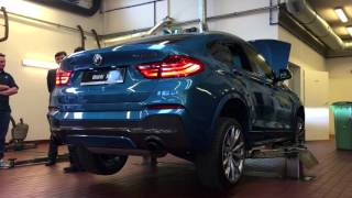 BMW X4 M40i - revving up and walk around