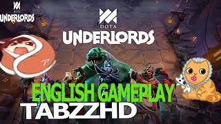 DOTA UNDERLORDS PRO GAMEPLAY WITH ENGLISH COMMENTARY