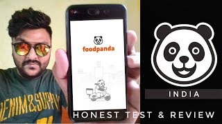 Testing FOOD PANDA 🐼 aap for the first time 🔥 || Honest test & review 🔥||online Food ordering app