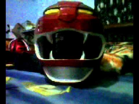 Power Rangers Wild Force Red Ranger Helmet