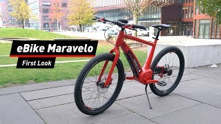 Edles Luxus-Bike: Maravelo Sporter im First Look!