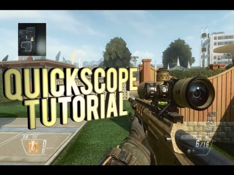 Black Ops 2 How to Quick Scope Perfect - Tutorial
