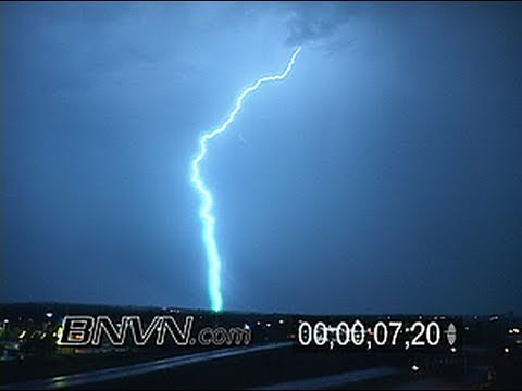 9/30/2007 Overnight Lightning Footage From Eagan, MN