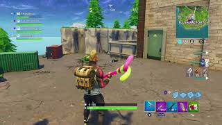 Fortnite game that was streamed on Mixer